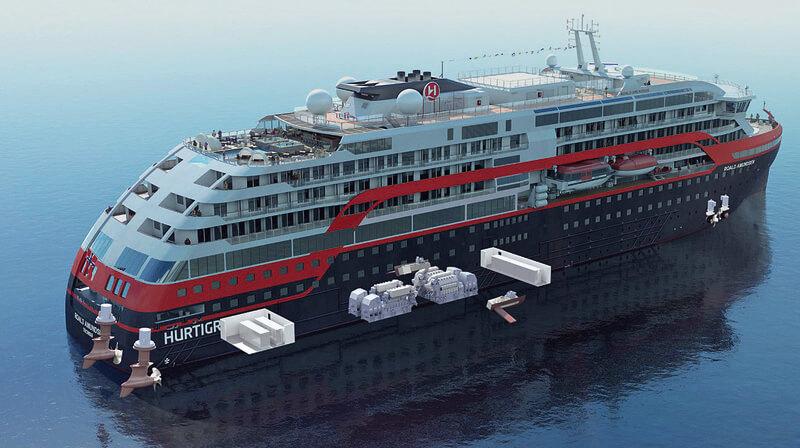 Hurtigruten - арктичний люксовий круїзний лайнер