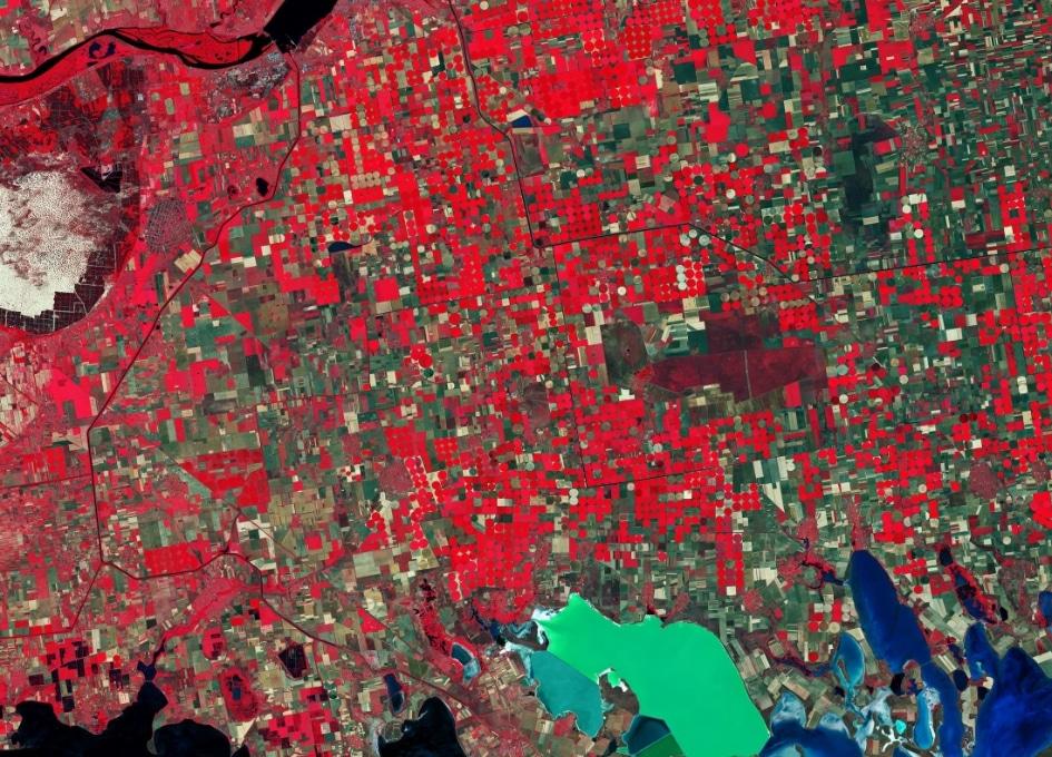 Європейське космічне агентство показало, як з космосу виглядає південь України: фото, відео